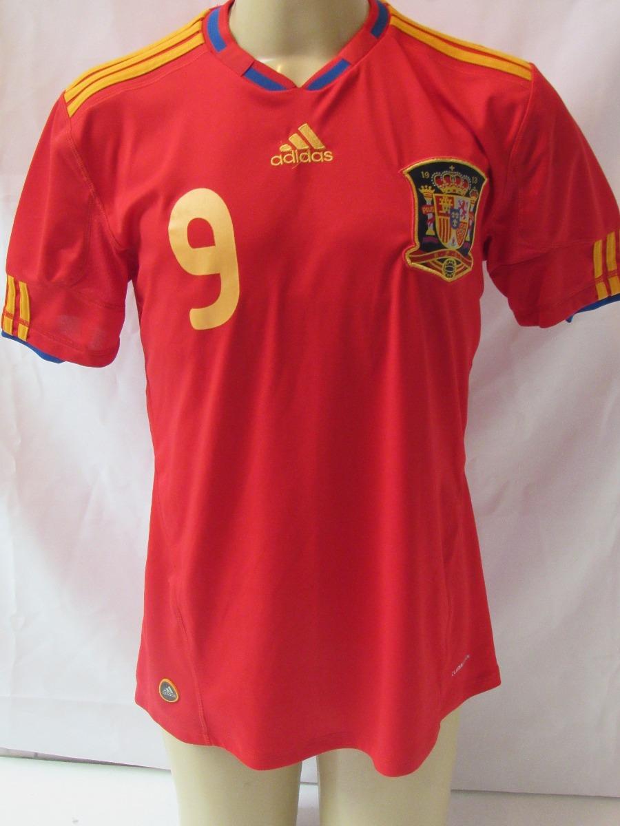 057cf23ff8 Camisa Futebol Seleção Espanha Modelo Copa 10 -  9 F. Torres - R ...