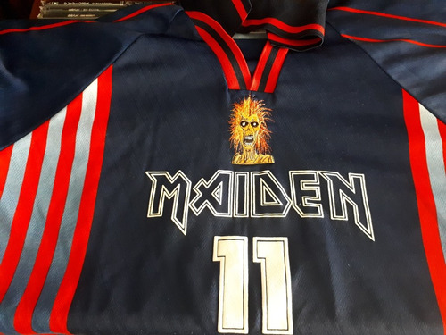 camisa futebol soccer amolad rocks iron maiden virtual xi gg