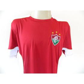 Camisa Futebol Time Fluminense Passeio Braziline - Tam. G