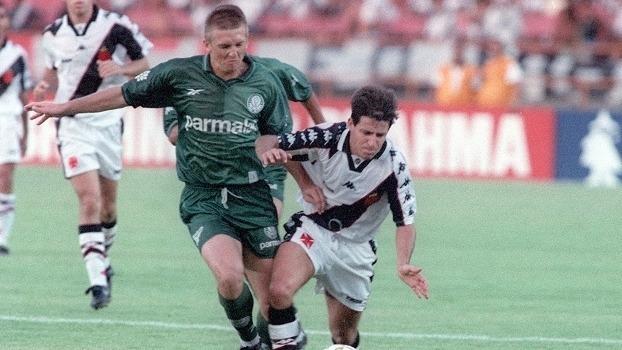dd51f89d48cf2 Camisa Futebol Vasco Kappa   5 De Jogo Campeão Br 1997 - R  499
