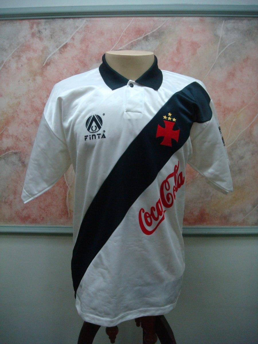 camisa futebol vasco rio janeiro rj finta antiga 1565. Carregando zoom. 7da7056ad16a1