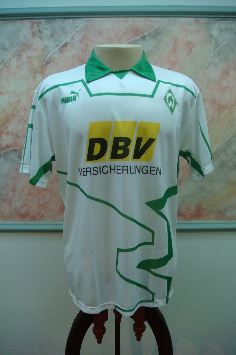 f6647ae9bf camisa futebol werder bremen alemanha puma antiga 1061. Carregando zoom.