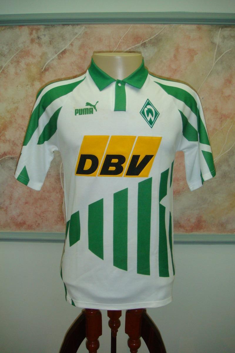 6ea548e26e camisa futebol werder bremen alemanha puma antiga 1063. Carregando zoom.