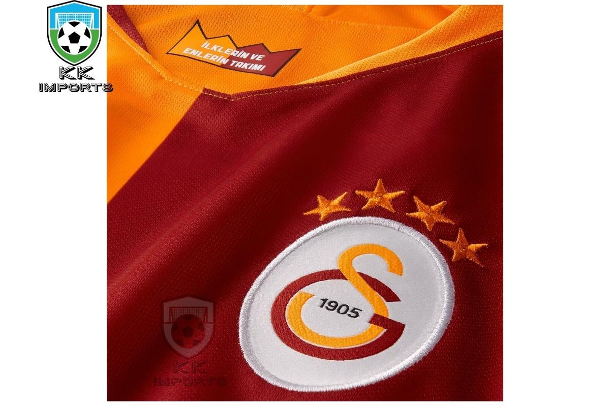 camisa galatasaray 2018 2019 uniforme 1. Carregando zoom. 0ffe5abb600fc