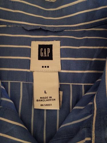 camisa gap hombre l abercrombie náutica