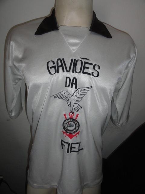Camisa Gaviões Da Fiel Tamanho G Bom Estado De Uso - R  62 d412f89a9aacf