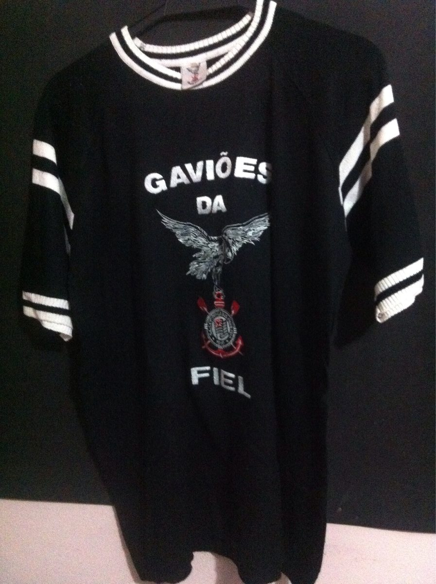 camisa gaviões da fiel tradicional. Carregando zoom. bc72e49a79368