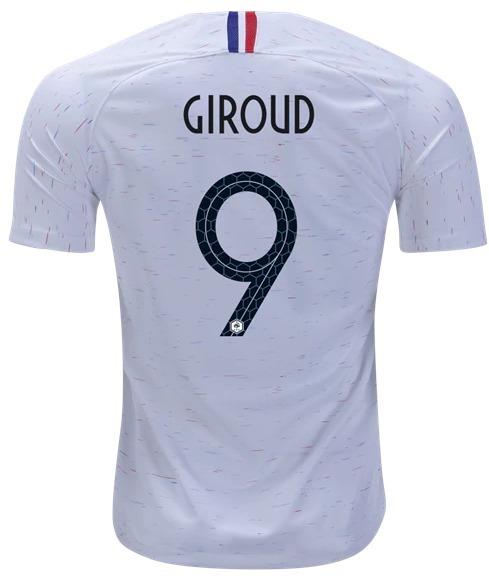 aabde80b4 Camisa Giroud 9 França Copa Mundo 2018 Original Frete Gratis - R ...
