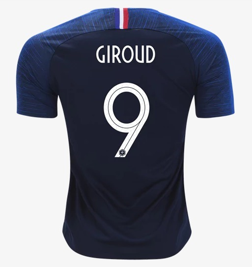 dee8c3b95 Camisa Giroud França Copa Mundo 2018 Original - Frete Gratis - R ...