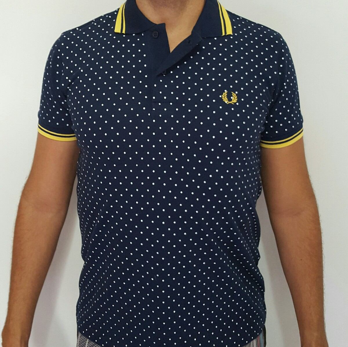 camisa gola polo fred perry. Carregando zoom. eaf8504220de3