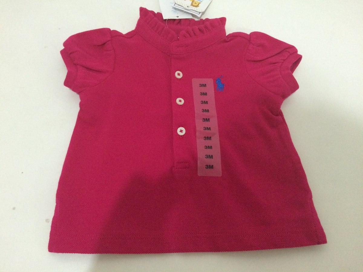 camisa gola polo infantil menina polo ralph lauren 3 meses. Carregando zoom. 0058df8250d64