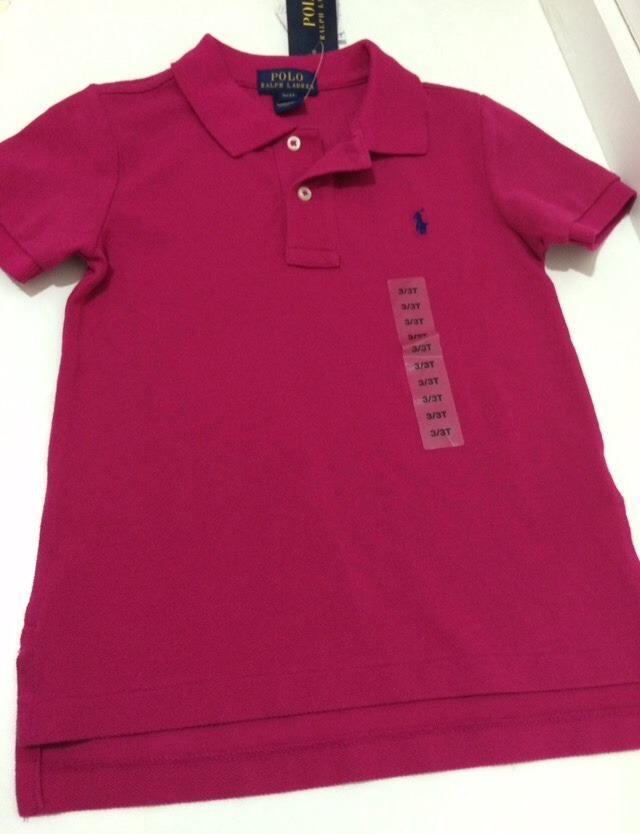 affd5a11e0 camisa gola polo infantil polo ralph lauren original 3t. Carregando zoom.