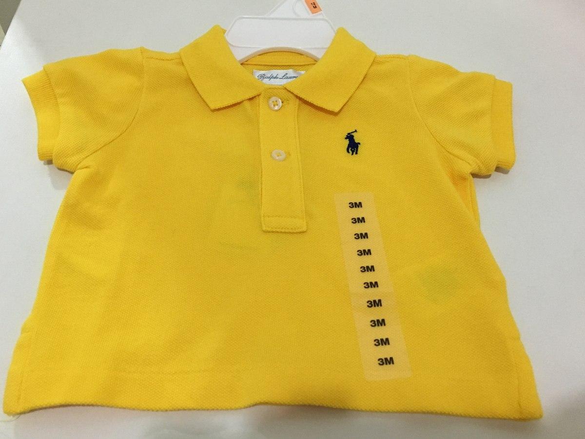 9c6d95e4e7 camisa gola polo infantil ralph lauren 3 meses original. Carregando zoom.