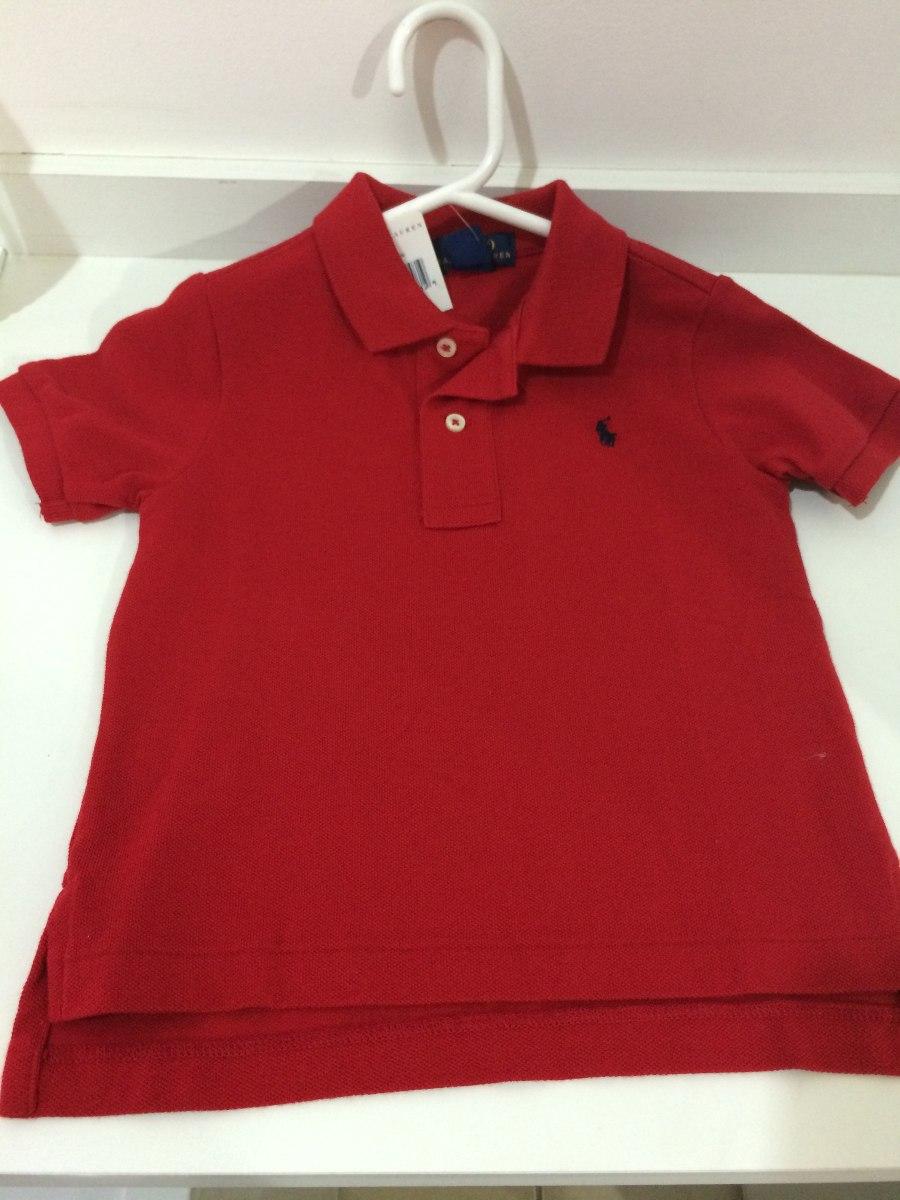 86e9f6df78323 camisa gola polo infantil ralph lauren e lacoste tamanho 2. Carregando zoom.