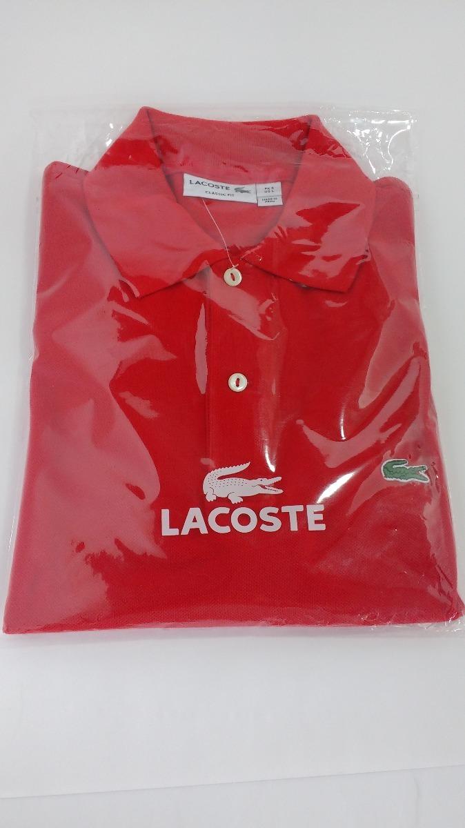 camisa gola polo lacoste original peruana lisa ralph lauren. Carregando  zoom. bf21f56860