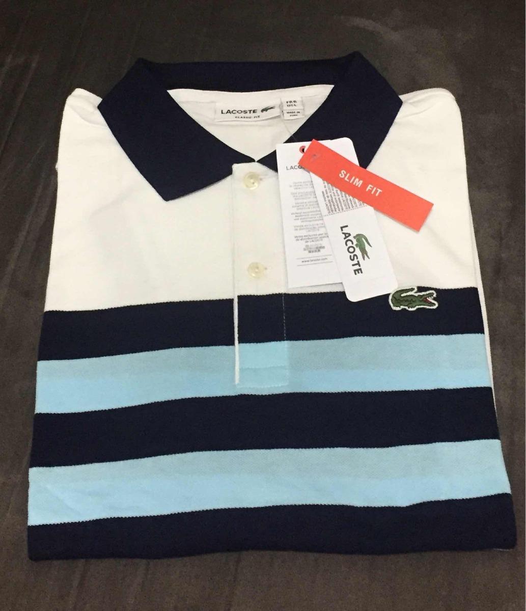 Camisa Gola Polo Lacoste 4a3e55838f6