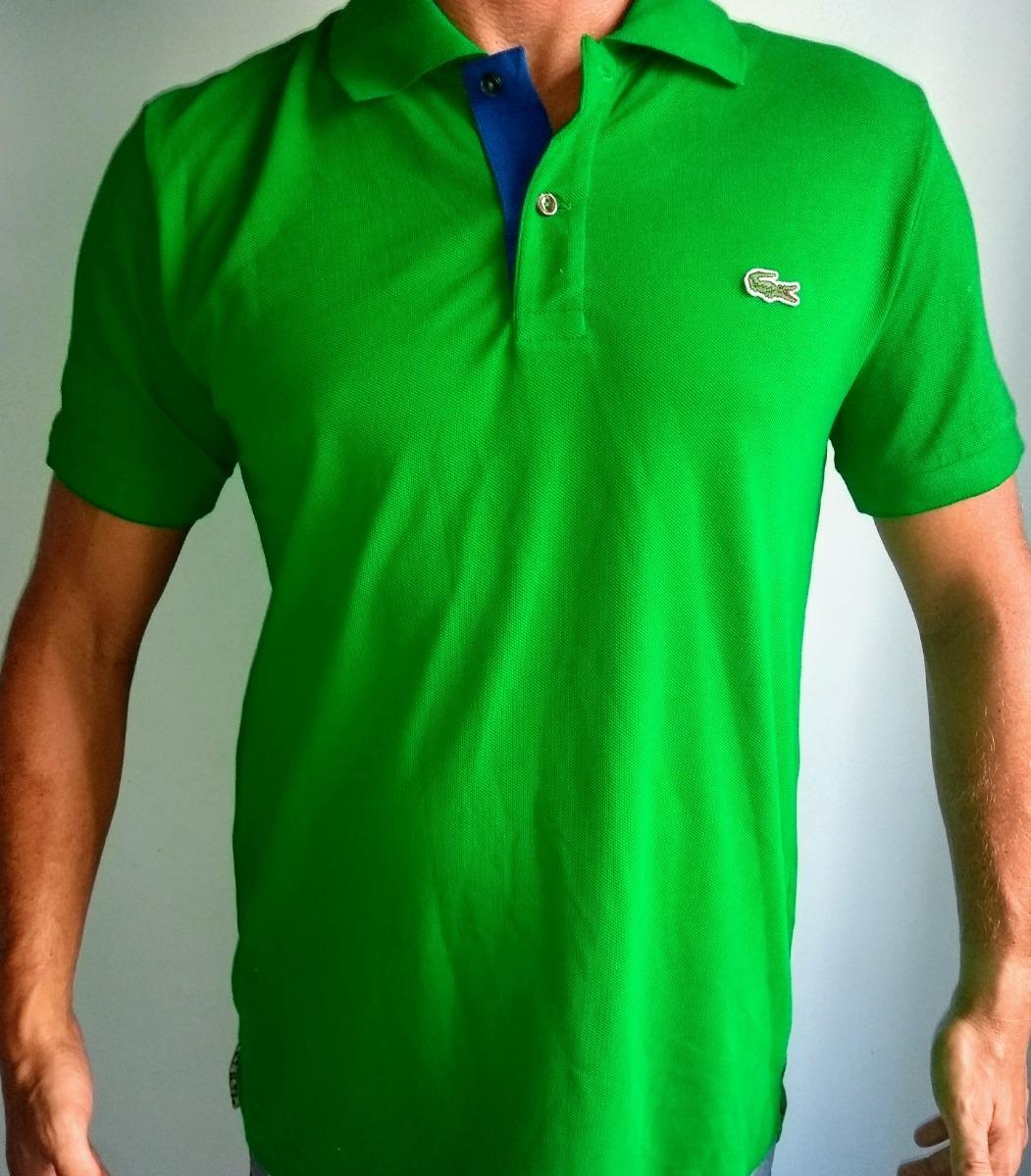 69778672e1 camisa gola polo lacoste verde original masculina classica!! Carregando  zoom.