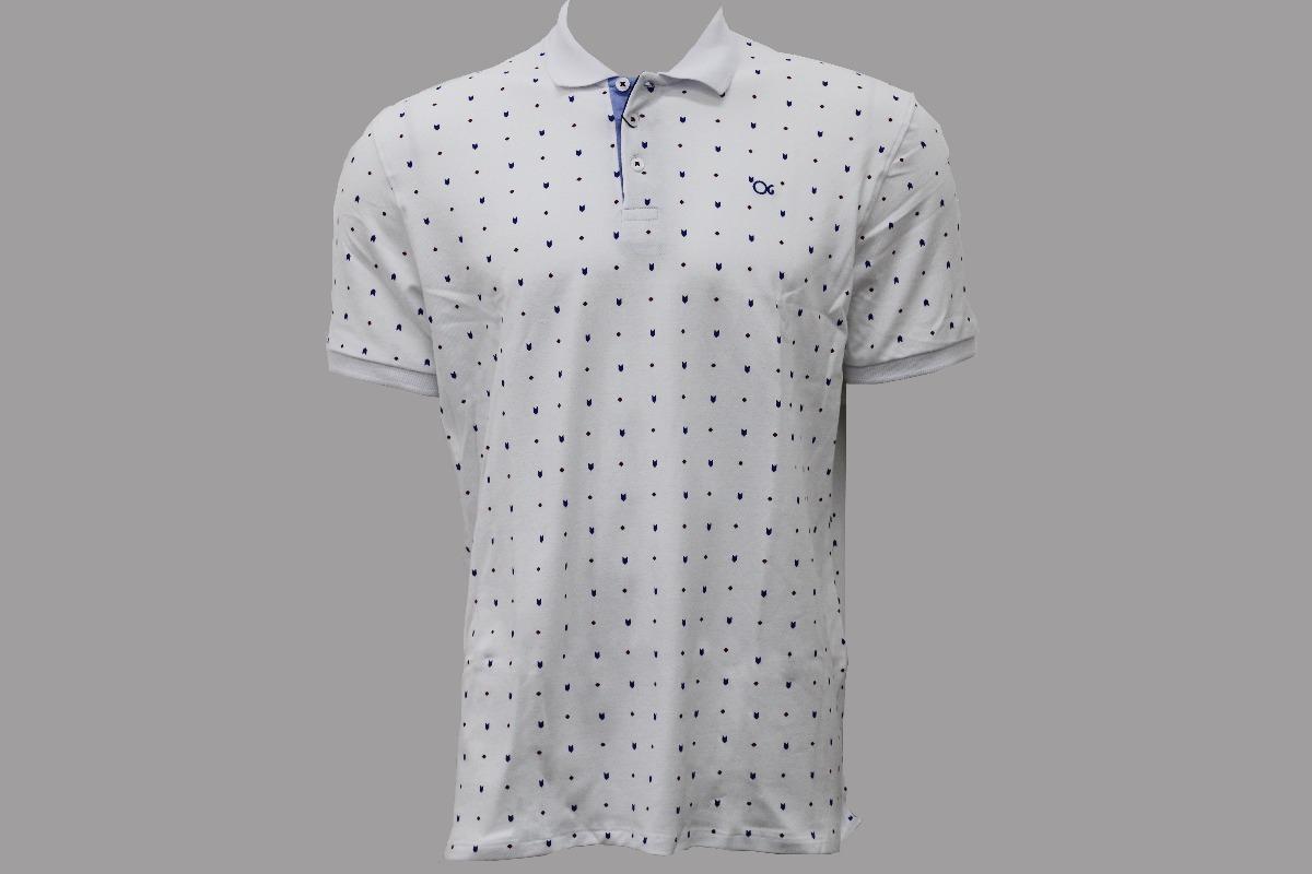 camisa gola polo masculina estampada ogochi x007394008. Carregando zoom. 35c6189730799