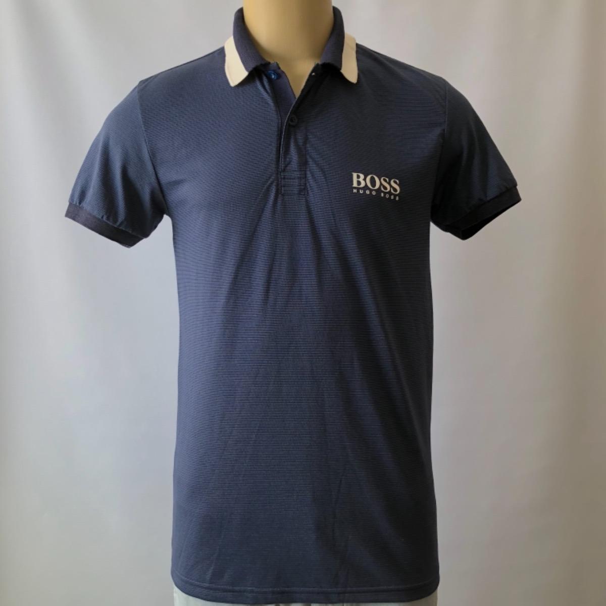 camisa gola polo masculina hugo boss importada algodão. Carregando zoom. cbc2d44ea8c93