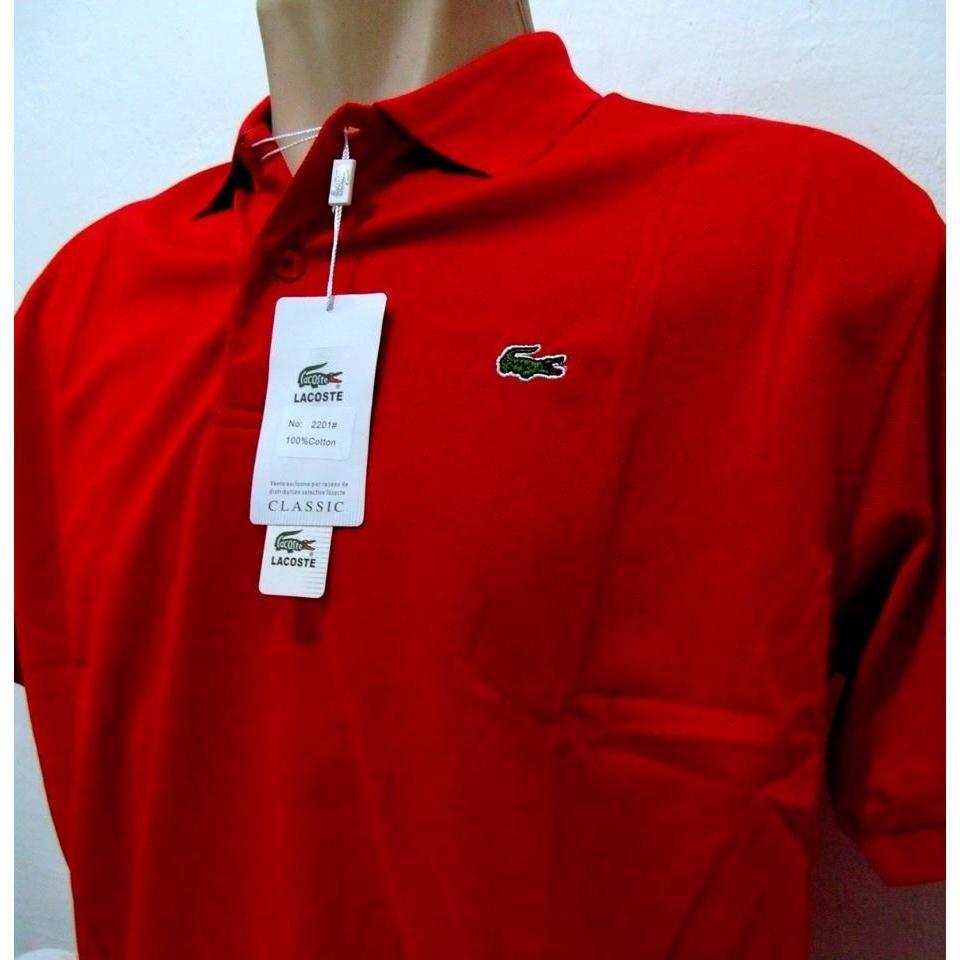 e520bcef8b Camisa Gola Polo Masculina Lacoste Primeira-linha P