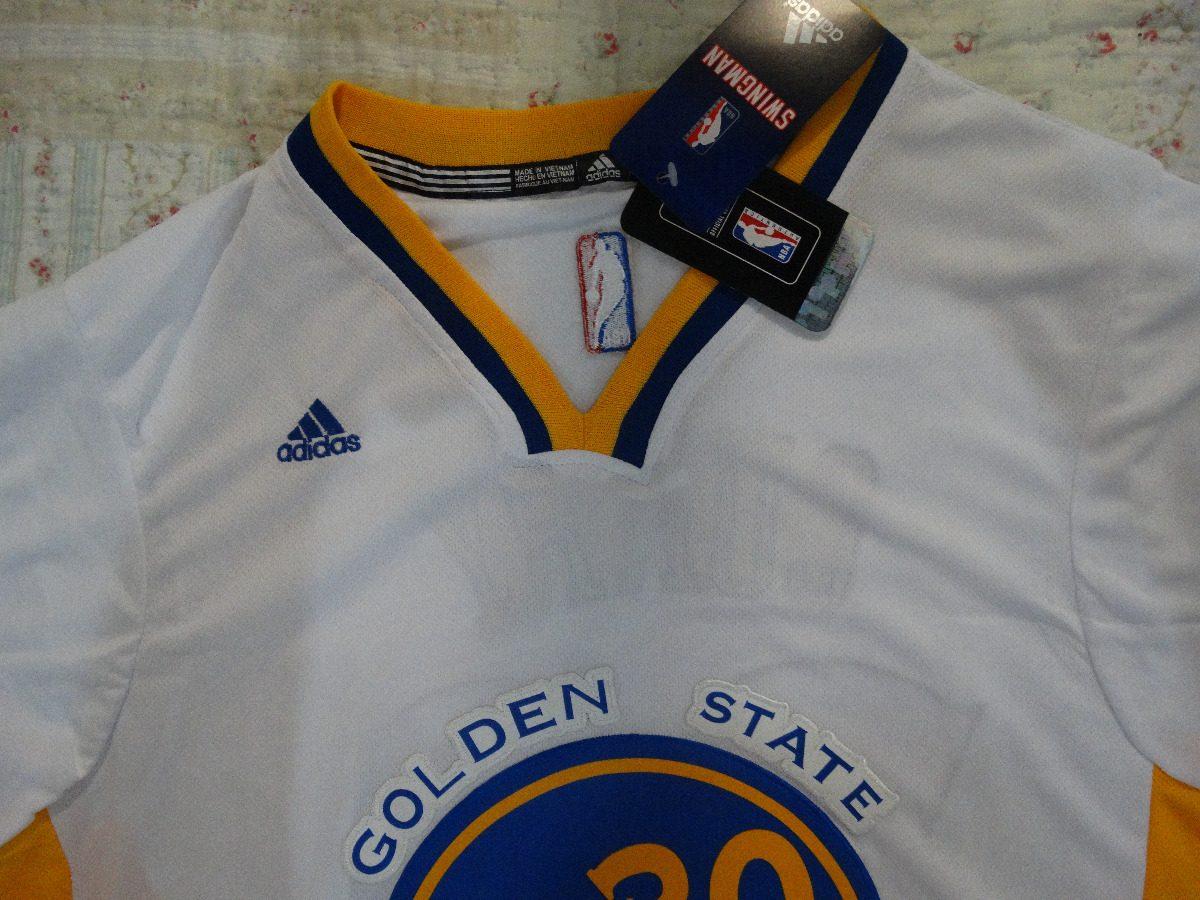 camisa golden state warriors stephen curry branca mangas. Carregando zoom. 63f0a5d259b