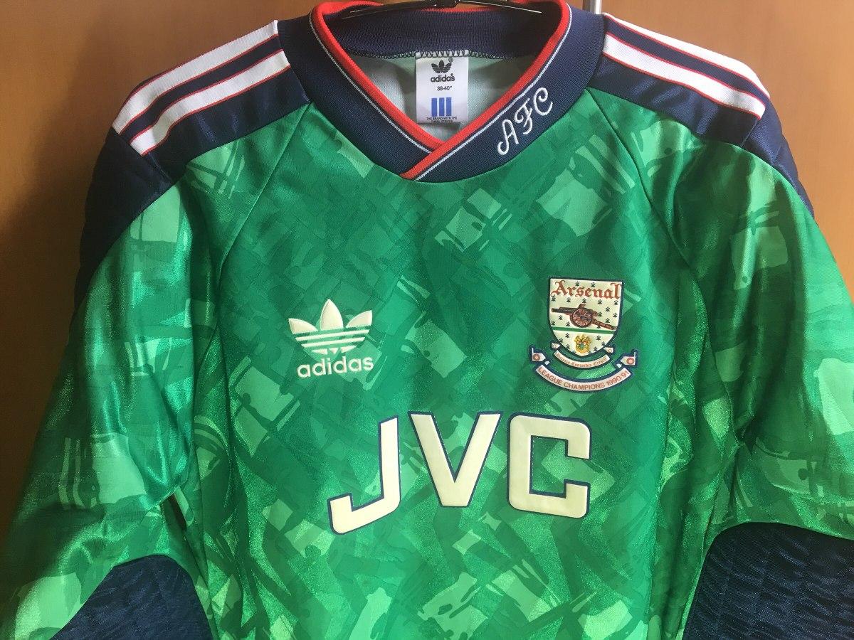 camisa goleiro arsenal perfeito estado made in uk. Carregando zoom. 61c6b6b753d3a