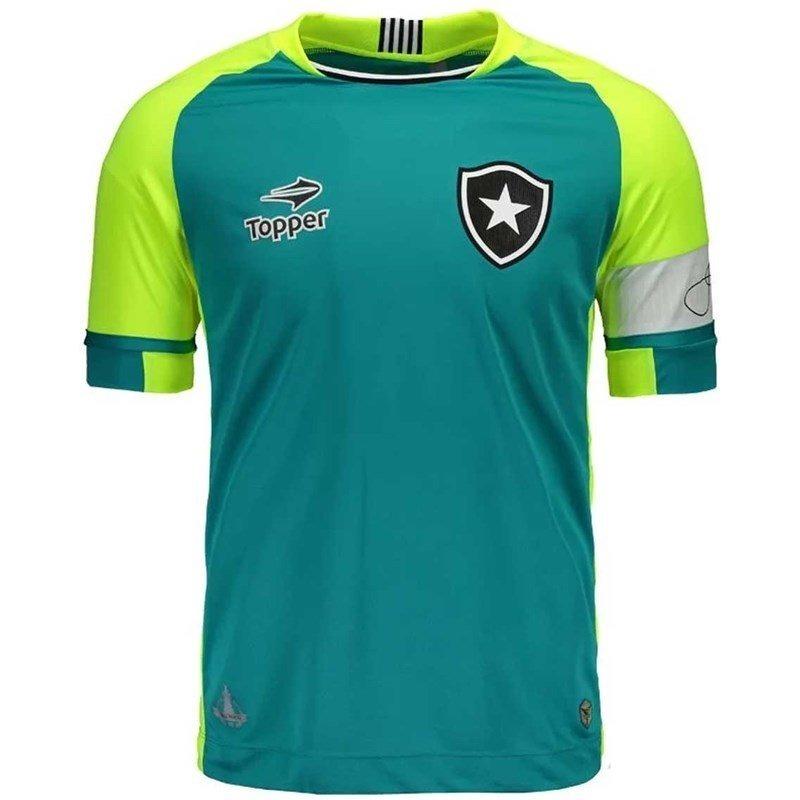 camisa goleiro botafogo jefferson oficial topper 2016   2017. Carregando  zoom. 144c574afd303