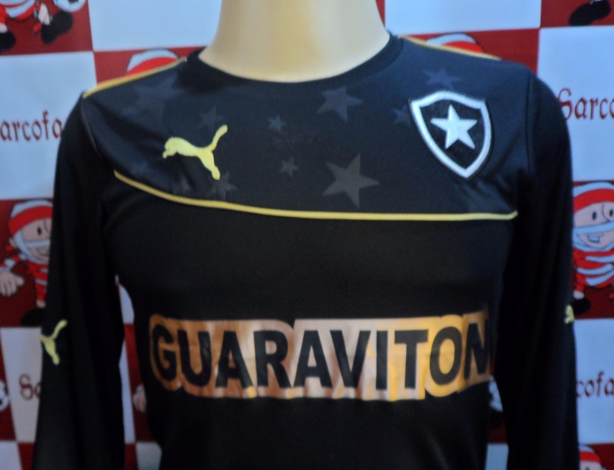 camisa goleiro botafogo preta puma oficial promoção. Carregando zoom. affa1c2ac7b9e