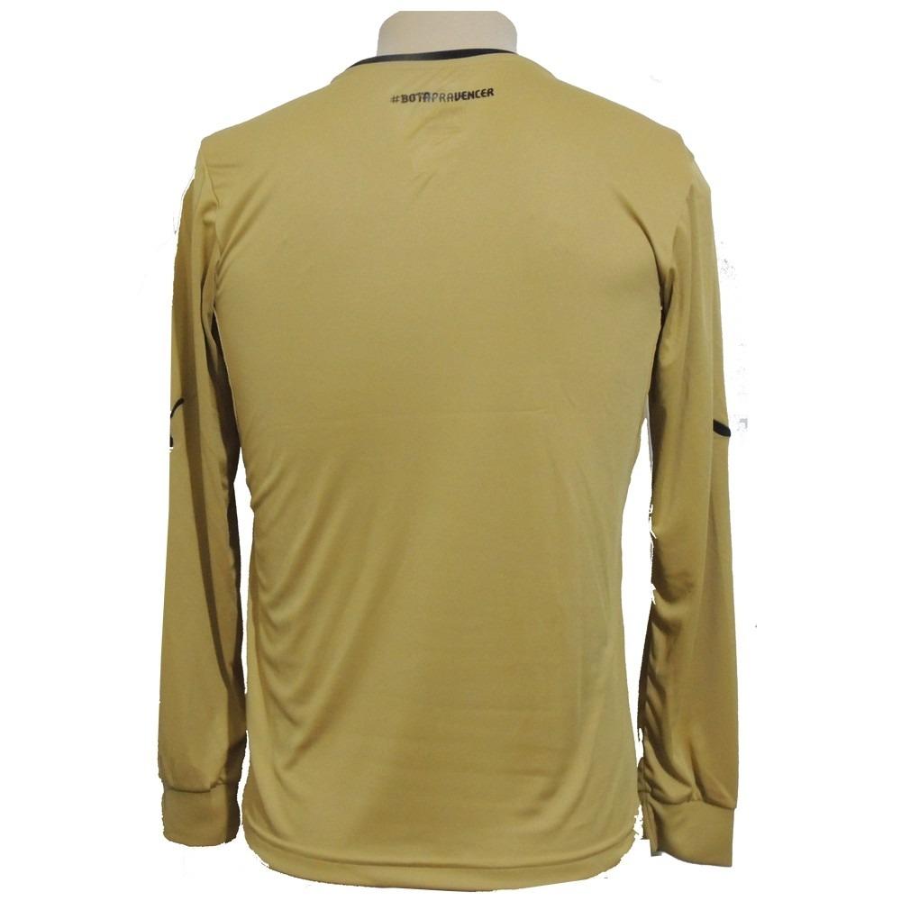 camisa goleiro botafogo puma oficial dourada. Carregando zoom. e1cec1fb289b4