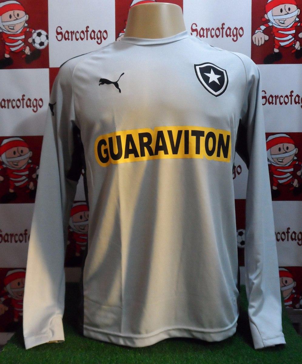camisa goleiro botafogo puma oficial promoção cinza. Carregando zoom. 0122916fb4793