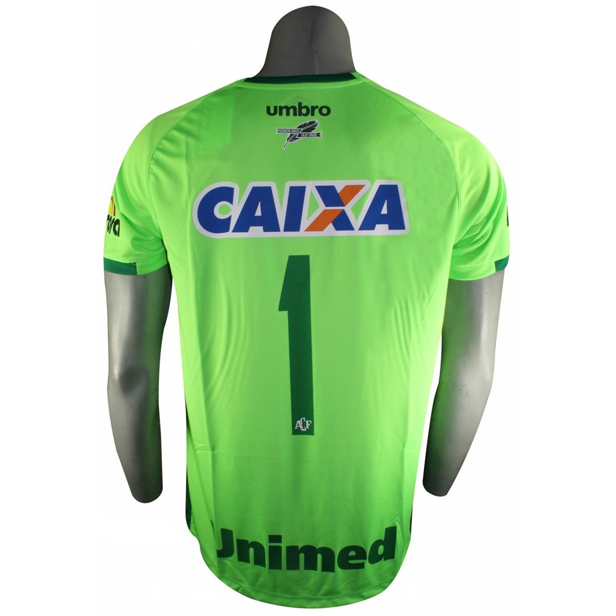Camisa Goleiro Chapecoense Umbro 3a05002  79de482d594f9