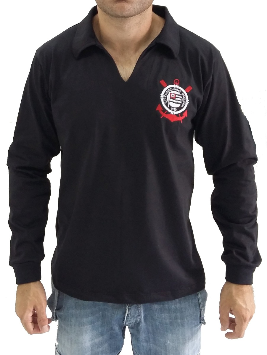 camisa goleiro corinthians retrô 1969. Carregando zoom. c25b0aadb057d