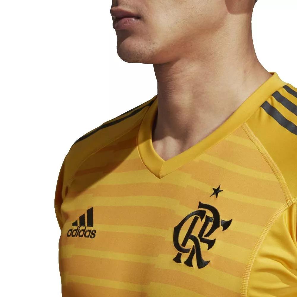 c9e30f29f7 camisa goleiro flamengo 2018 s n° torcedor adidas oficial. Carregando zoom.