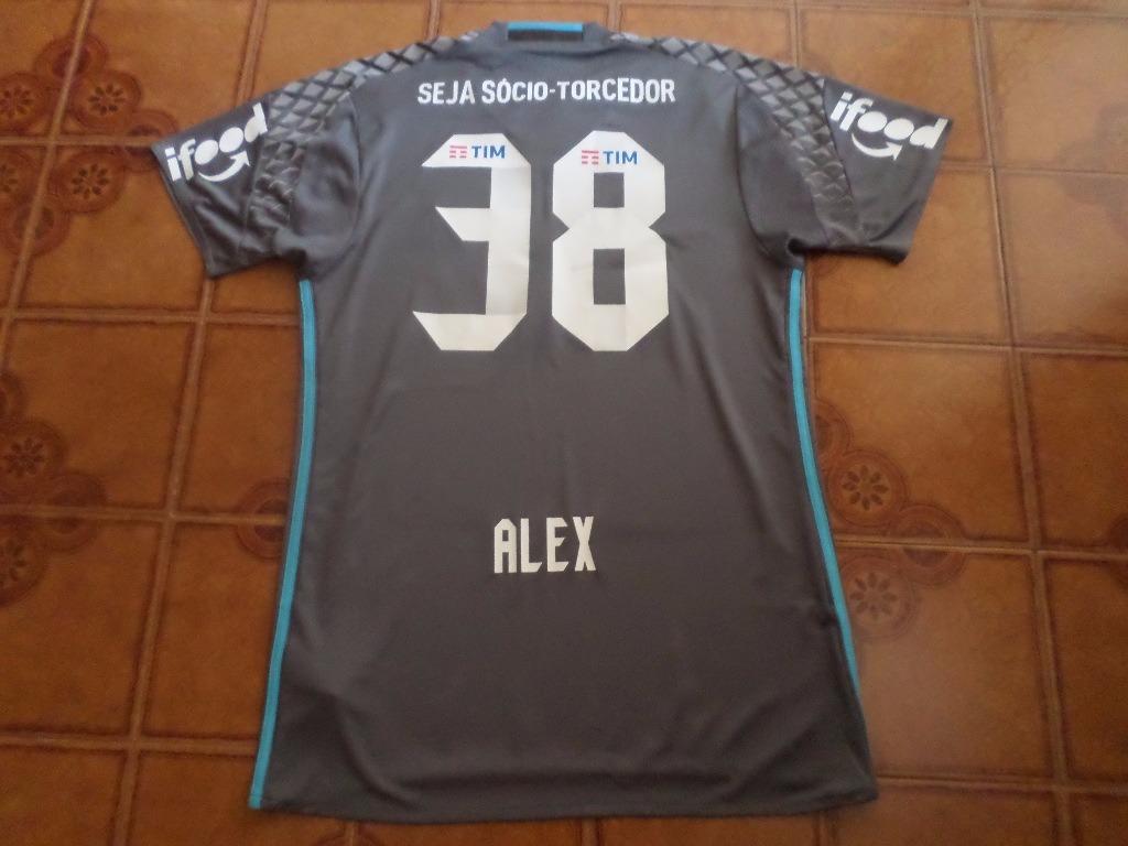 camisa goleiro flamengo jogo 38 alex tamanho m. Carregando zoom. 68f21bf31d283