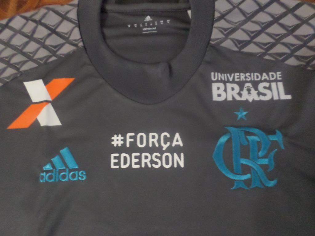 camisa goleiro flamengo jogo   força ederson 38 m. Carregando zoom. 3d1a4c9052f9a
