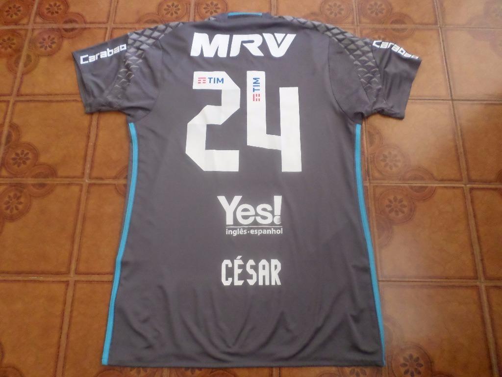 camisa goleiro flamengo jogo libertadores césar 24 m. Carregando zoom. 158fc1c139a22
