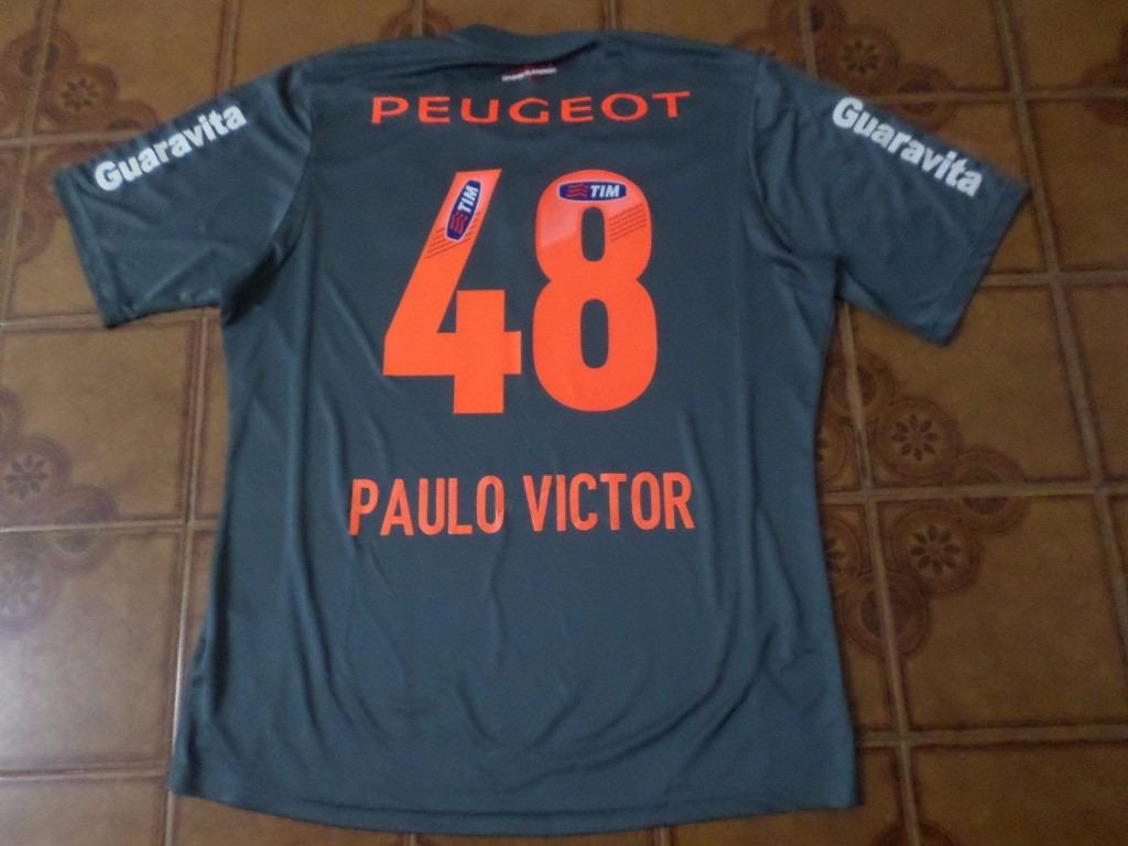 camisa goleiro flamengo número 48 paulo victor g. Carregando zoom. a130a6fdae4e4