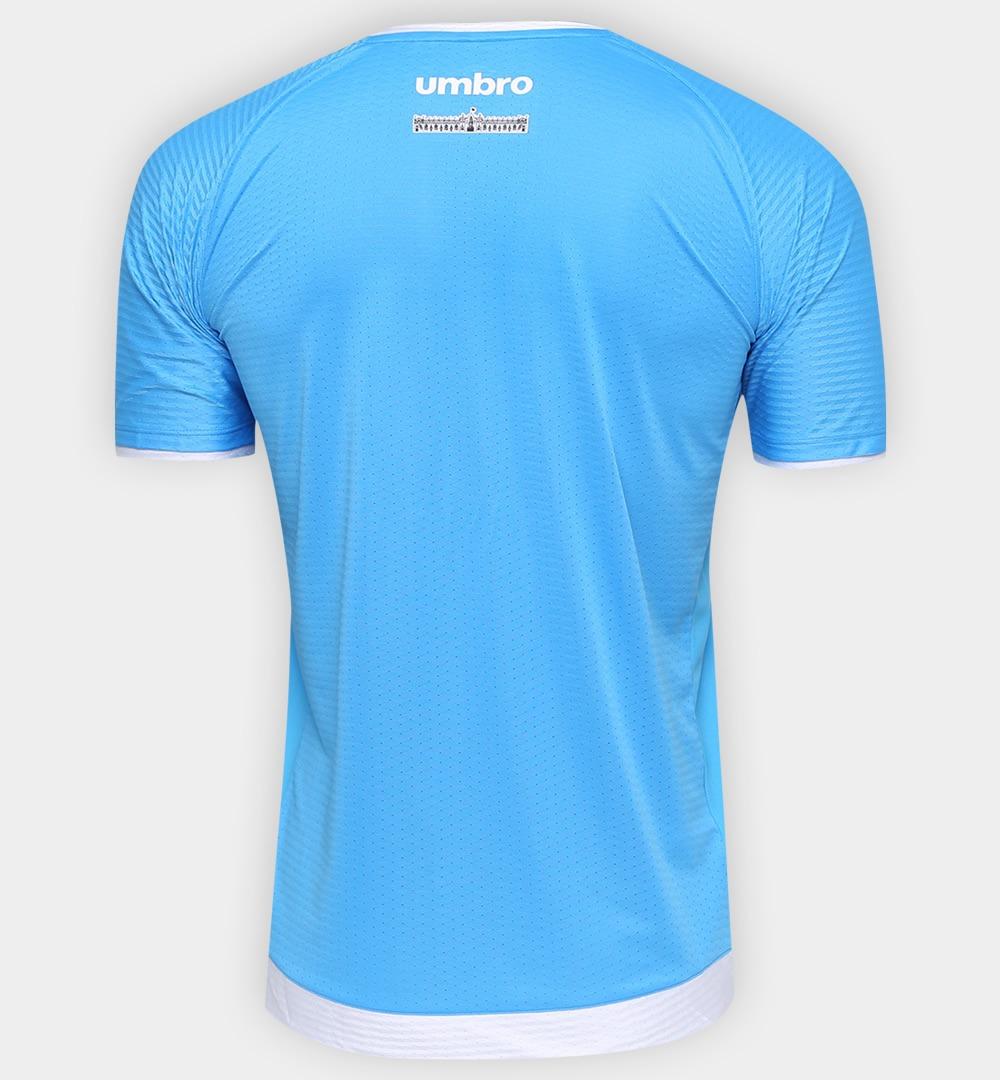 camisa goleiro vasco da gama 2017 umbro azul celest e branca. Carregando  zoom. 45789b1837325