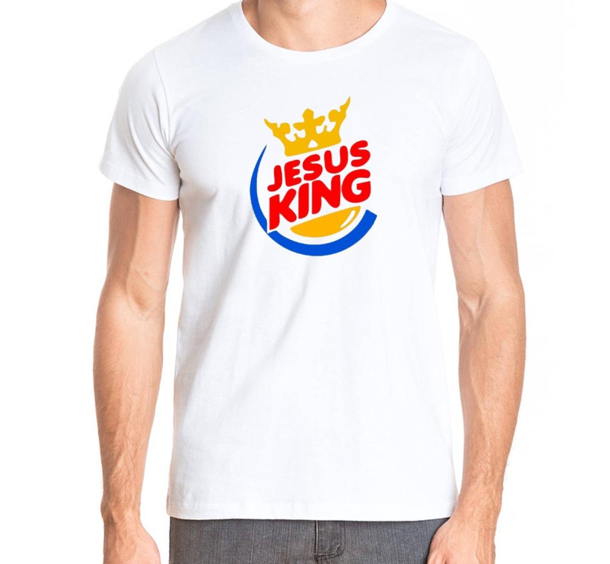 773d2a092 camisa gospel - jesus king - masculina e feminina. Carregando zoom.