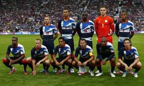 Camisa Grã-bretanha Futebol Olimpiadas 2012 - R  240 ab50d76de88f4