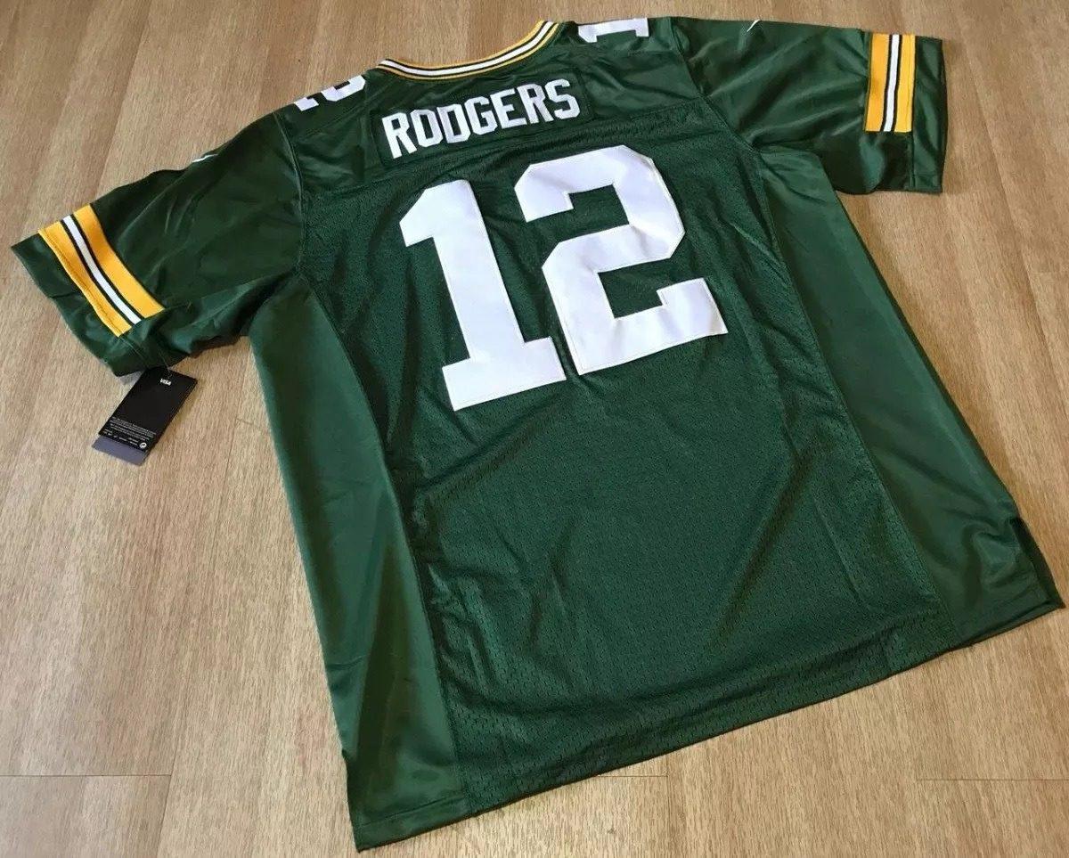camisa green bay packers aaron rodgers 12 pronta entrega. Carregando zoom. a7d0627af4b
