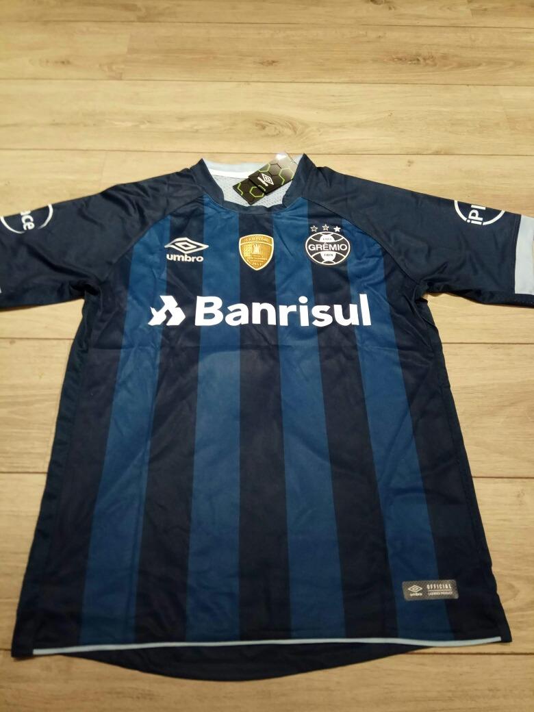 0c46560d399a8 Camisa Gremio 17 18 Umbro + Patch Libertadores Kanneman  4 - R  160 ...