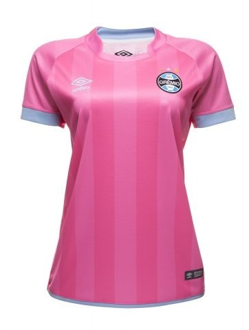 Camisa Gremio Feminina Outubro Rosa Umbro Oficial 2017 2018 - R  144 ... 7a0ad14ae0131