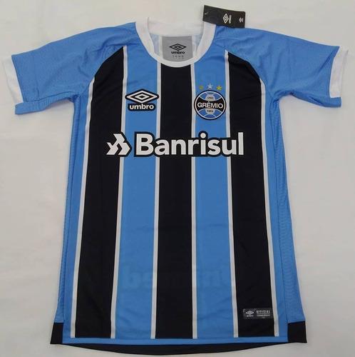 Camisa Gremio N° 10 Oficial Umbro 2017 2018 Tri Libertadores - R ... 079d0ff58483a