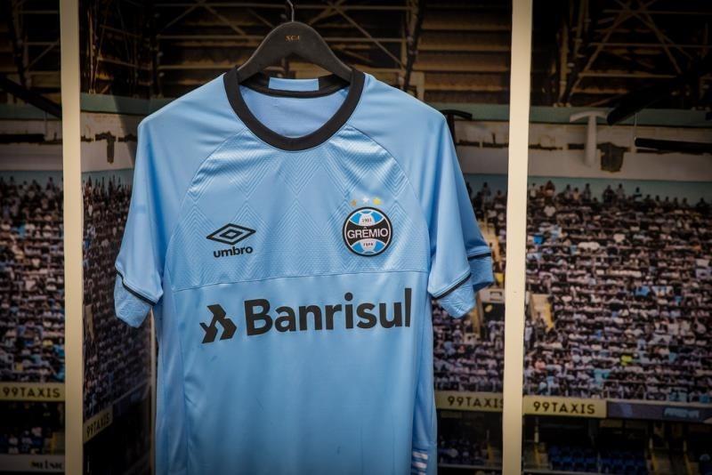 camisa gremio oficial umbro charrua nations 2018 n 7 celeste. Carregando  zoom. 4a5f9cf4dc3c4