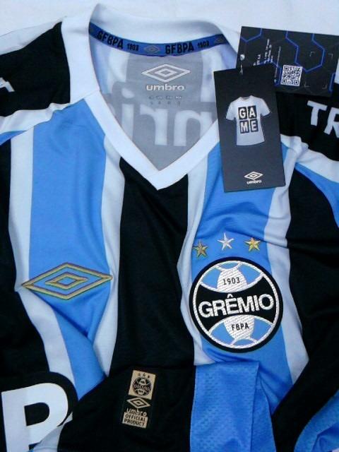 fbb646b44f Camisa Gremio Oficial Umbro Game 2015 S n° Com Nota Fiscal! - R  149 ...