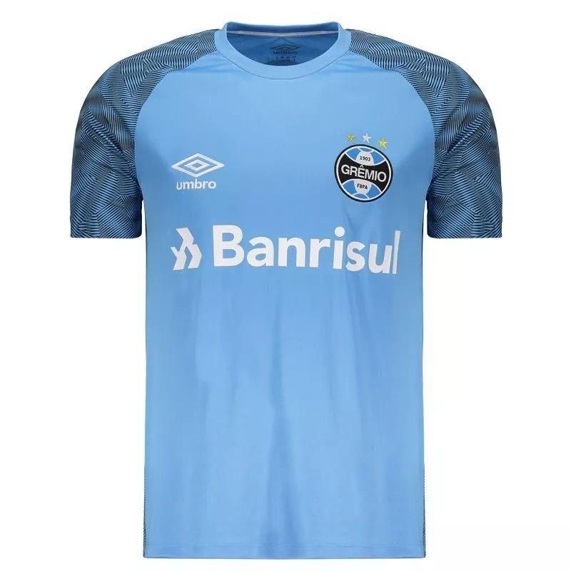 camisa gremio treino oficial umbro azul celeste 2018 2019. Carregando zoom. f393803bc001d