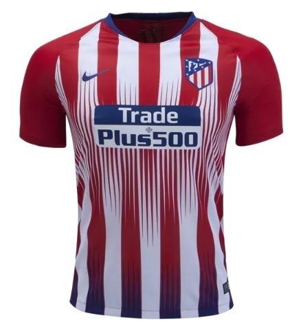 653f4a85cd Camisa Griezmann 7 Atletico De Madrid 2018-2019 Frete Gratis - R ...