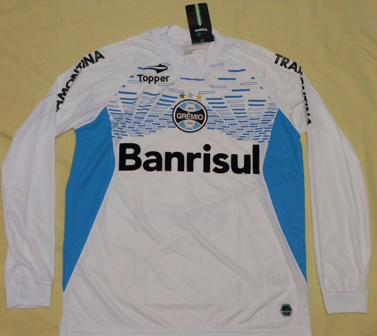 Camisa Grêmio 100% Original Topper 2012 Goleiro - 11 - R  349 59b4cd5dd42b8