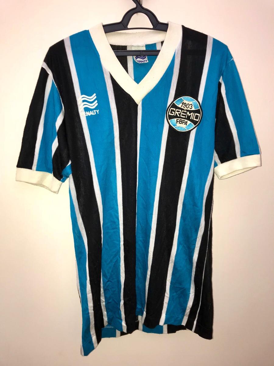 camisa grêmio  2 usada em jogo anos 80 penalty - perfeita. Carregando zoom. 845b91d5a08db